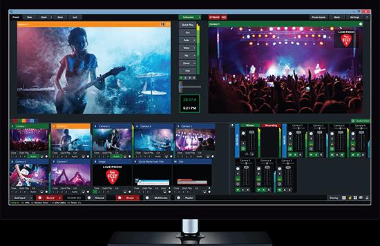 vMix Switcher de Producción en Vivo